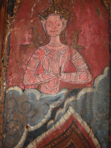 Mural, Wat Tung Si Muang