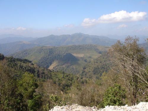 Laos view near Xam Nua