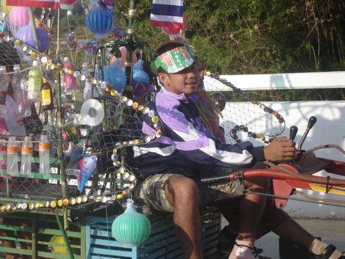 Thai recyclist