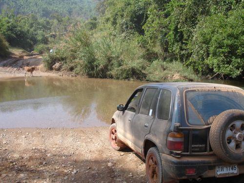 Laos on road to Phonsavanh