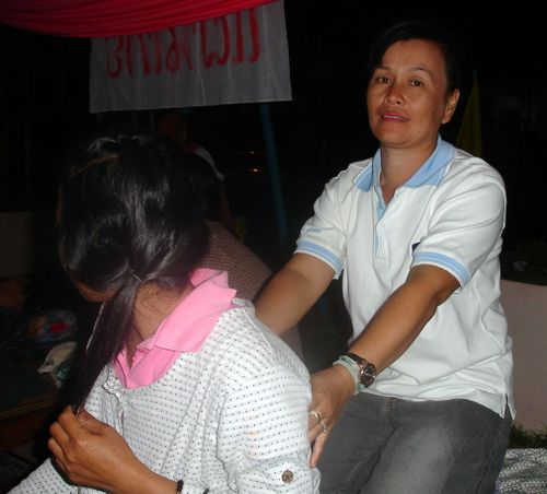 Two Thai masseuses
