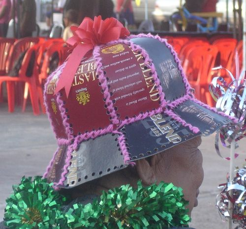 Recycled hat