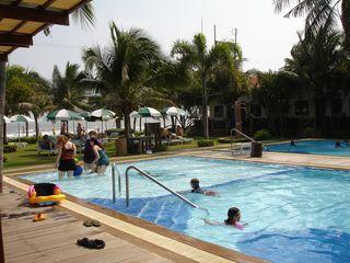 Pool to beach